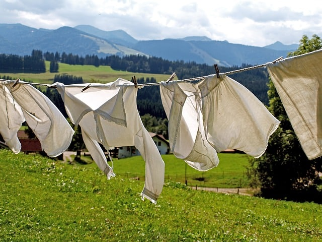 Line Dry Clothes