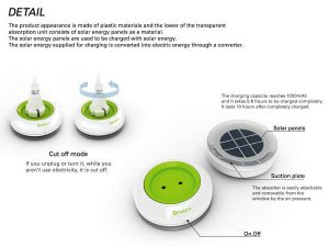 solar-powered inventions