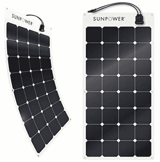 SunPower 100 Watt Flexible solar panel