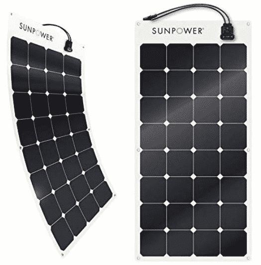 SunPower 100 Watt Flexible solar panel