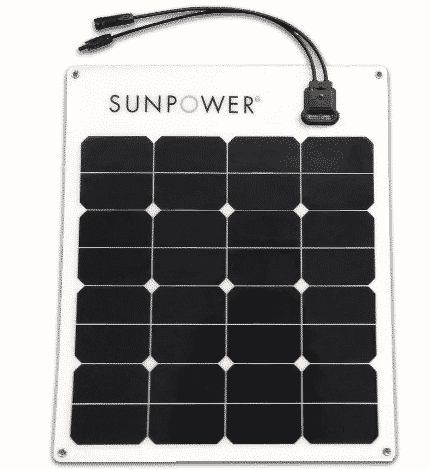 50watt SunPower Solar panel