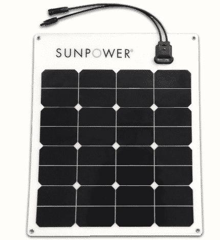 50watt SunPower Solar panel