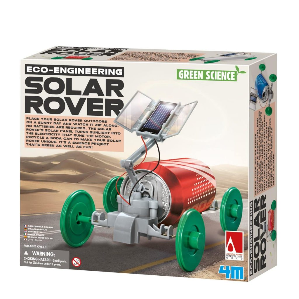 Eco-Engineering Solar Rover Kit