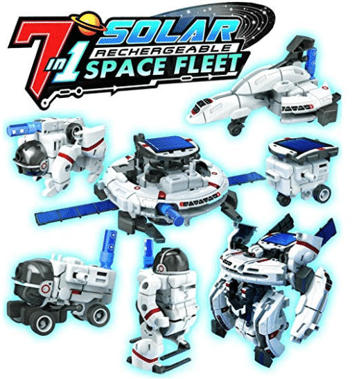 OWI Solar Space Fleet | Transform into 7 Different Space Robots | No Batteries | Solar Powered