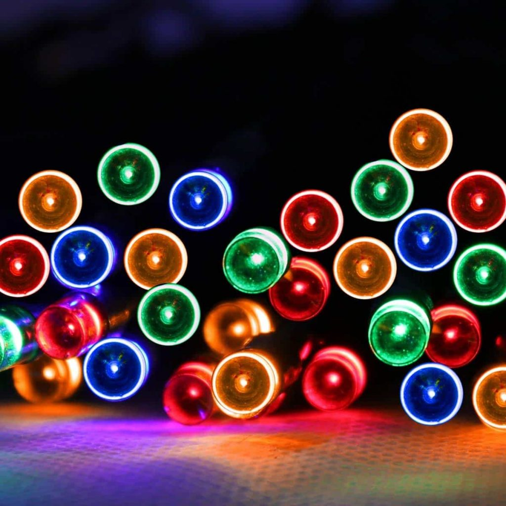 olar String Lights with 8 Light Effects Multicolor