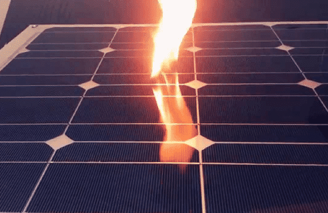Are Solar Panels A Fire Risk