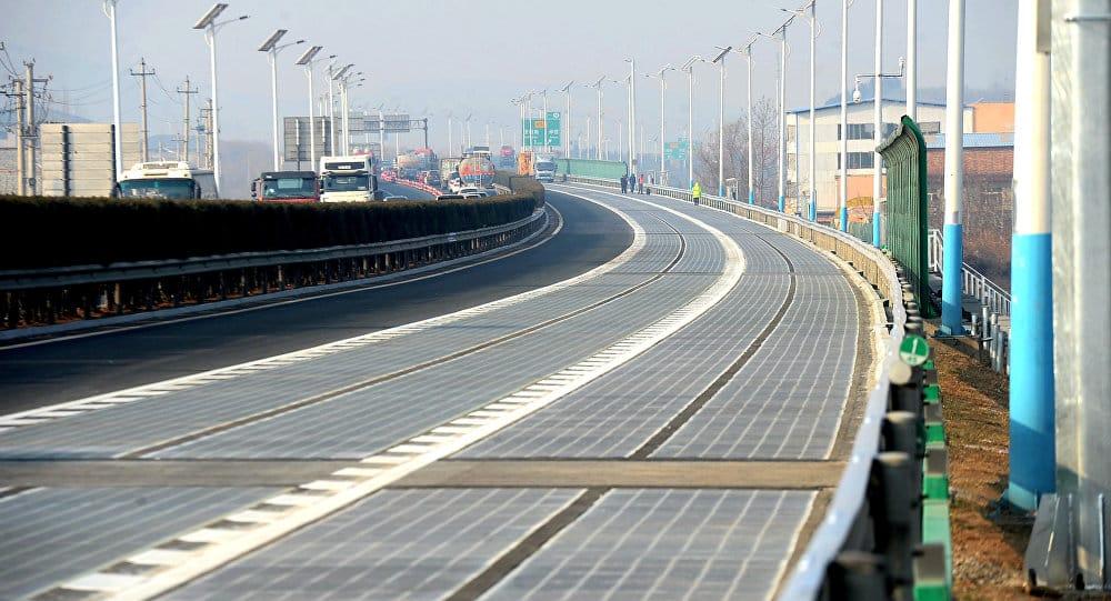 Solar highway