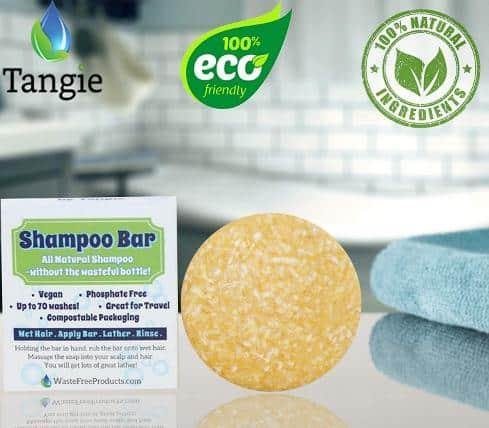 Zero Waste Natural Organic Shampoo Bar for hairs