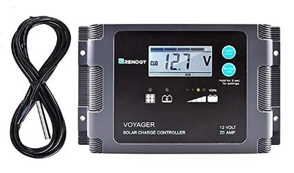 Renogy Voyager PWM Waterproof Solar Charge Controller