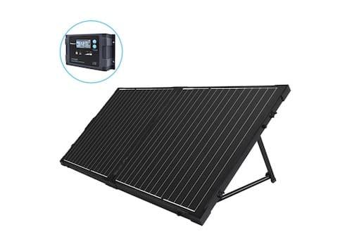 Renogy 100 Watt 12 Volt Foldable Solar Suitcase With Voyager