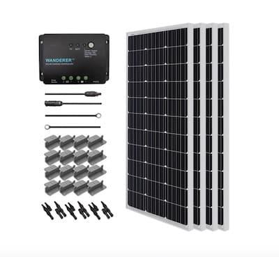 Renogy 400 Watt 12 Volt Solar Starter Kit