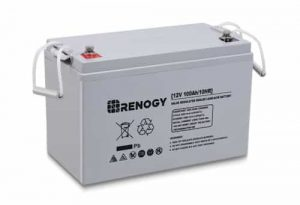 Renogy Deep Cycle AGM Battery 12 Volt 100Ah