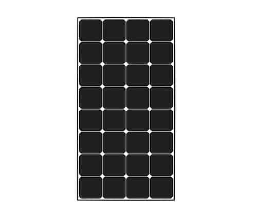 Renogy Eclipse 100 Watt 12 Volt Solar Panel