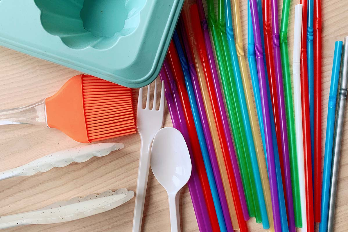 silicone and single use kitchen tools