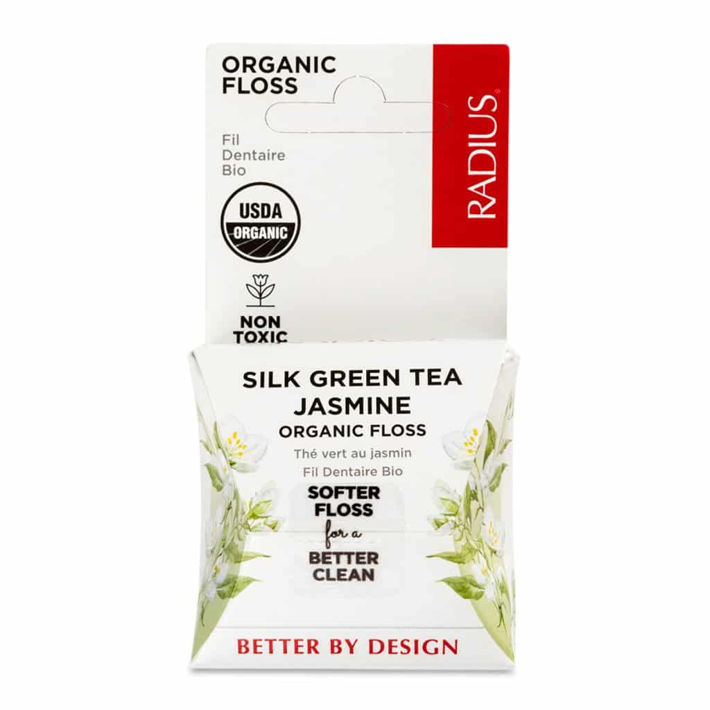 Radius Green Tea Jasmine Eco Friendly Floss