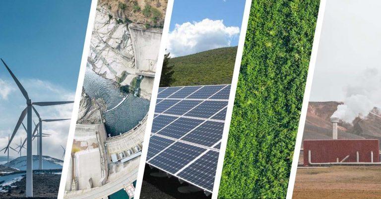5 Major Types of Renewable Energy [+2 Under Development]