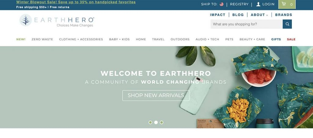 Earth Hero zero waste store