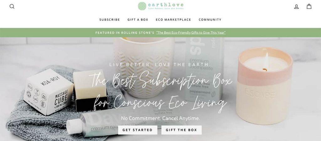 Earthlove zero waste store
