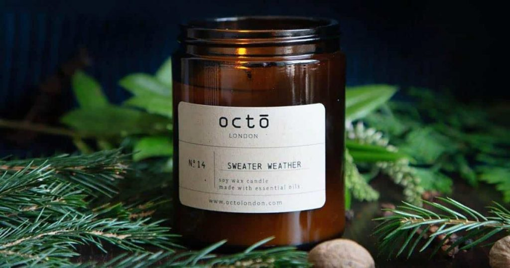 Octo Sweater Weather candle