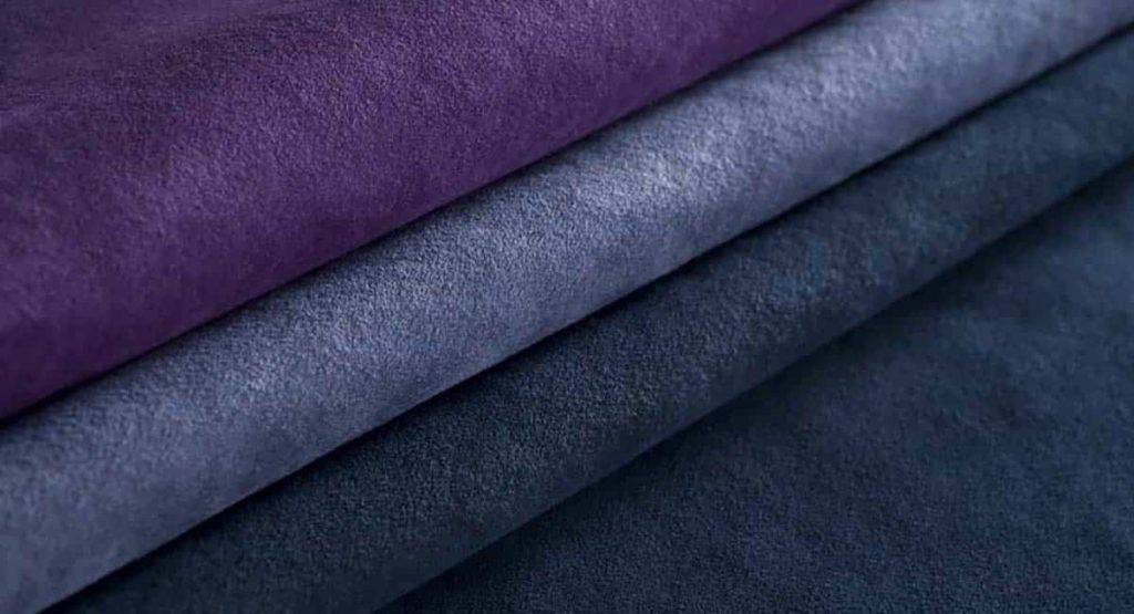 Alcantara fabric swatches