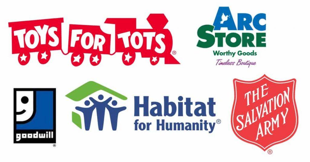 charities where to donate toys