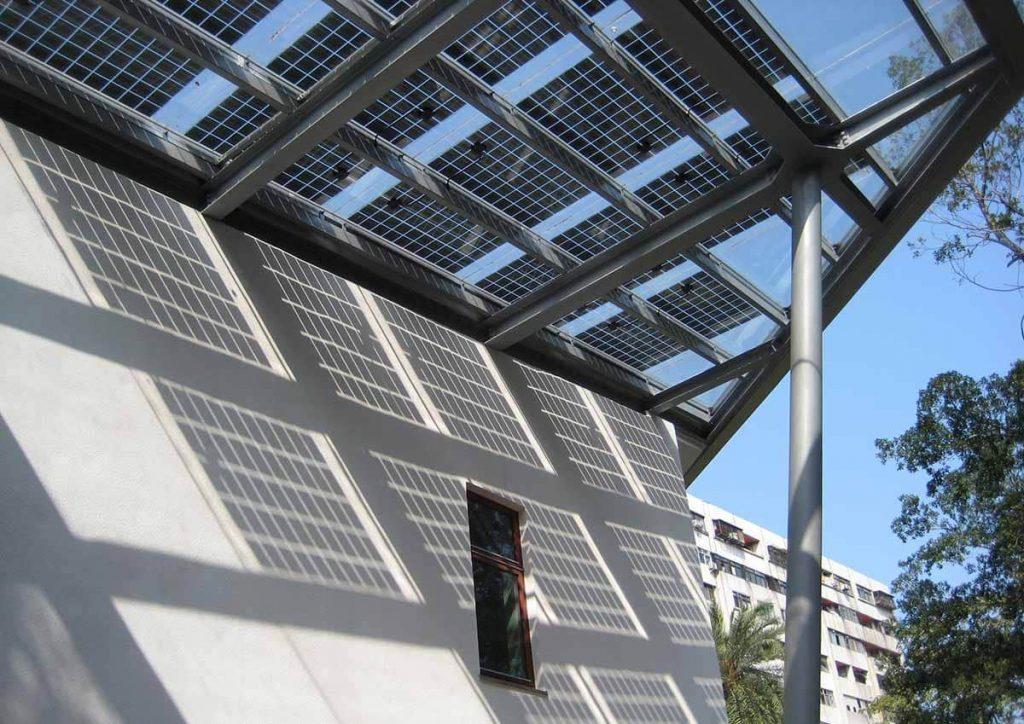 Building-integrated photovoltaics (BIPV)