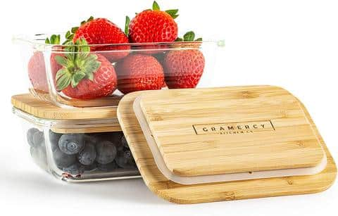 Gramercy Kitchen Company Glass Food Containers