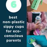 non plastic sippy cups