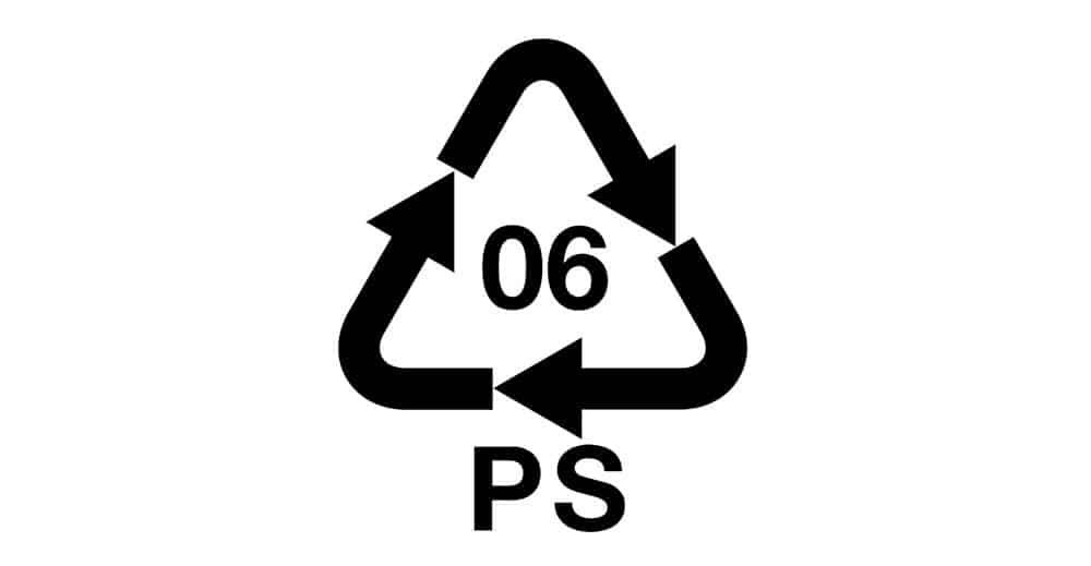 number six recycling code