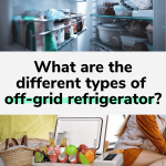 types of off-grid refrigerator