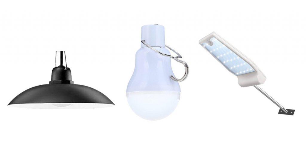 types of chicken coop lights