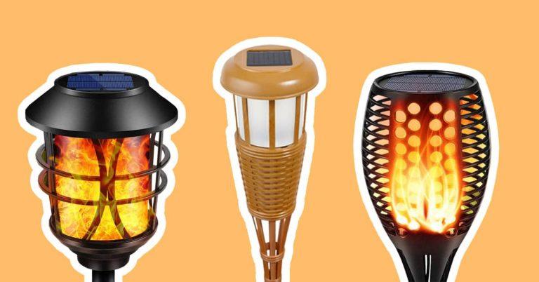 Best Solar Tiki Torches to Light Your Garden