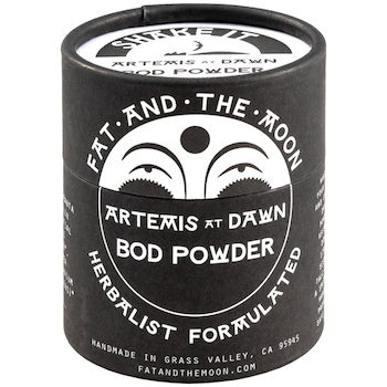 Fat and the Moon Artemis at Dawn Scented Body Powder