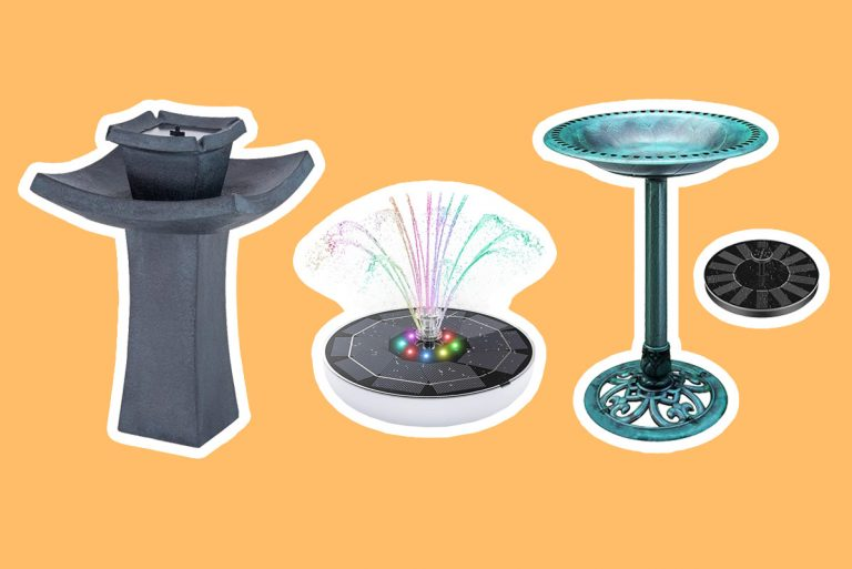 Best Solar Powered Fountains for 2021